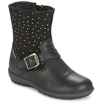 Cipők Lány Városi csizmák Primigi PCIGT 8569 Fekete