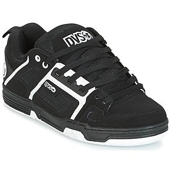 Cipők Rövid szárú edzőcipők DVS COMANCHE Fekete  / Fehér