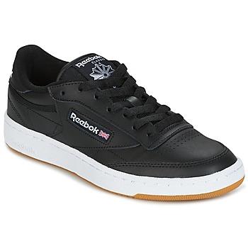 Cipők Rövid szárú edzőcipők Reebok Classic CLUB C 85 C Fekete