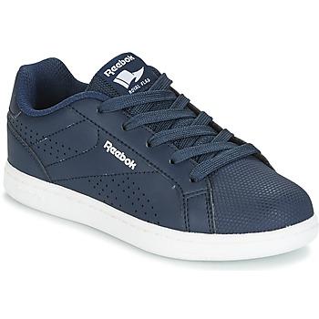 Cipők Fiú Rövid szárú edzőcipők Reebok Classic REEBOK ROYAL COMPLE Tengerész