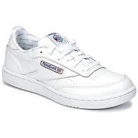 Cipők Gyerek Rövid szárú edzőcipők Reebok Classic CLUB C Fehér