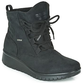 Cipők Női Csizmák Romika VARESE N08 Fekete