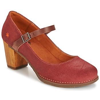 Shoes Női Félcipők Art SALZBURG Piros