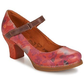 Cipők Női Félcipők Art HARLEM Piros