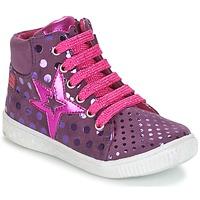 Cipők Lány Magas szárú edzőcipők Agatha Ruiz de la Prada FLOW Lila