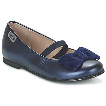 Cipők Lány Balerina cipők / babák Garvalin GARDEN Kék