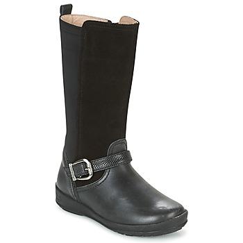 Cipők Lány Városi csizmák Garvalin NEW FLORES Fekete