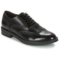 Cipők Férfi Oxford cipők Stonefly CLASS II 2 BRUSH OFF Fekete