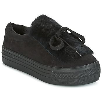 Cipők Női Rövid szárú edzőcipők Coolway PLUTON Fekete