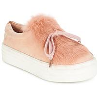 Cipők Női Rövid szárú edzőcipők Coolway PLUTON Rózsaszín