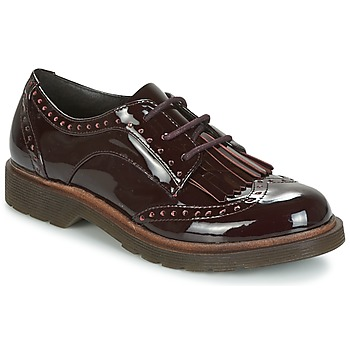 Cipők Női Oxford cipők Coolway PRAGA Bordó