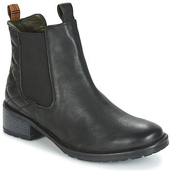 Cipők Női Bokacsizmák Barbour LATIMER Fekete