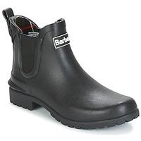 Cipők Női Gumicsizmák Barbour WILTON Fekete