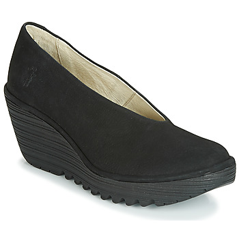 Cipők Női Félcipők Fly London CUPIDO Fekete