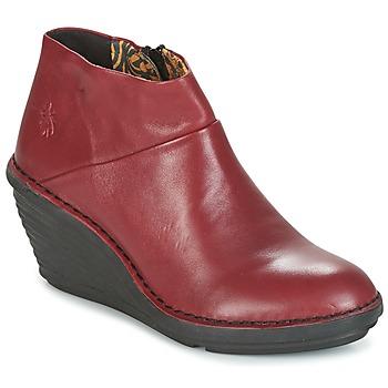 Cipők Női Csizmák Fly London SIPI 671 Piros