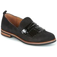 Cipők Női Mokkaszínek Caprice CILA Fekete