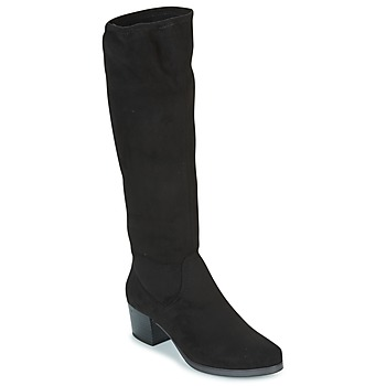 Cipők Női Városi csizmák Caprice BELLA Fekete
