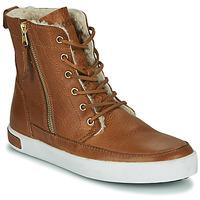 Cipők Női Magas szárú edzőcipők Blackstone CW96 Barna