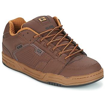 Cipők Férfi Rövid szárú edzőcipők Globe SCRIBE Barna