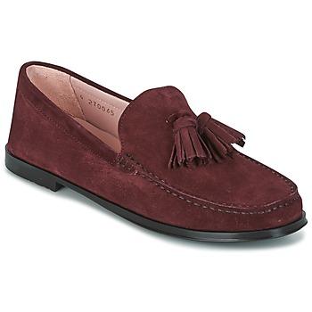 Shoes Női Mokkaszínek Pretty Ballerinas CROSTINA RIOJA Bordó