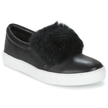 Cipők Női Belebújós cipők Les Tropéziennes par M Belarbi LEONE Fekete