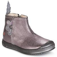 Cipők Lány Csizmák GBB ROMANE Fa / De / Rózsaszín