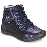 Cipők Lány Magas szárú edzőcipők GBB ROMIE Tengerész