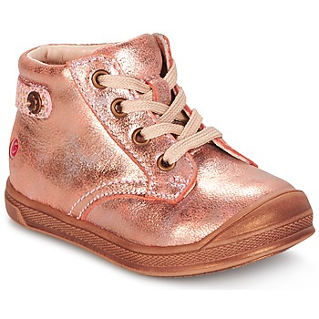 Cipők Lány Magas szárú edzőcipők GBB REGINE Rózsaszín