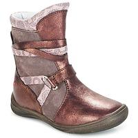 Cipők Lány Csizmák GBB ROSANA Rózsaszín / Bordó