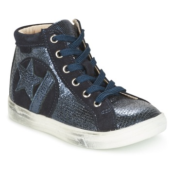 Cipők Lány Magas szárú edzőcipők GBB MARTA Vtc / Tengerész / Dpf / Dolby