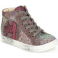 Cipők Lány Rövid szárú edzőcipők GBB MARTA Rózsaszín