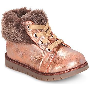Cipők Lány Csizmák GBB RENATA Rózsaszín