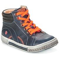 Cipők Fiú Magas szárú edzőcipők GBB RALPH Kék