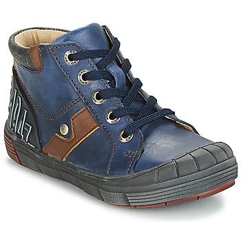 Cipők Fiú Magas szárú edzőcipők GBB RENOLD Tengerész