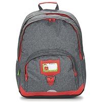 Bags Gyerek Hátitáskák Tann's CLASSIC SAC A DOS L Szürke / Piros