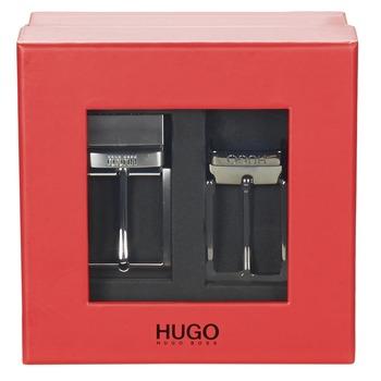 Textil kiegészítők Férfi Övek HUGO-Hugo Boss GIBILSY Fekete