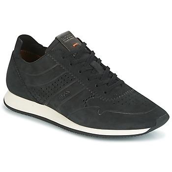 Shoes Férfi Rövid szárú edzőcipők Hugo Boss Orange ADRENAL RUNN Fekete