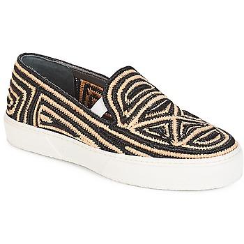 Cipők Női Belebújós cipők Robert Clergerie  Fekete  / Bézs