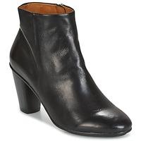 Cipők Női Bokacsizmák n.d.c. AURORA ZIP Fekete