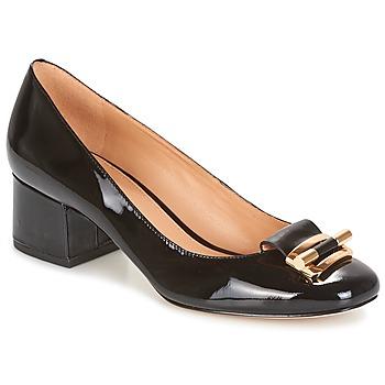 Cipők Női Félcipők MICHAEL Michael Kors GLORIA MID PUMP Fekete