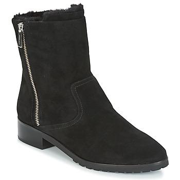Cipők Női Csizmák MICHAEL Michael Kors ANDI FLAT BOOTIE Fekete