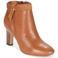 Cipők Női Bokacsizmák Ralph Lauren BRIN Konyak