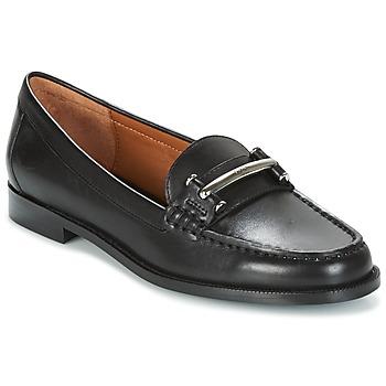 Cipők Női Mokkaszínek Ralph Lauren FLYNN Fekete