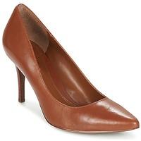 Cipők Női Félcipők Ralph Lauren REAVE Konyak