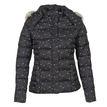 Ruhák Női Steppelt kabátok Kaporal BASIL Fekete