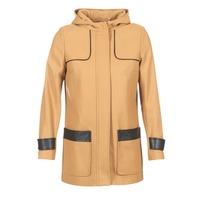 Ruhák Női Kabátok Naf Naf AHOULA Bézs