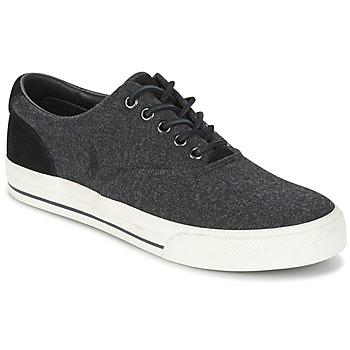 Cipők Férfi Rövid szárú edzőcipők Ralph Lauren VAUGHN Szürke
