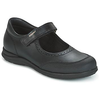 Cipők Lány Balerina cipők / babák Pablosky BRODY Fekete