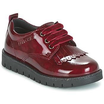 Cipők Lány Oxford cipők Pablosky LOLIPO Piros
