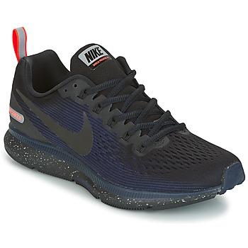 Cipők Női Futócipők Nike AIR ZOOM PEGASUS 34 SHIELD Fekete  / Kék